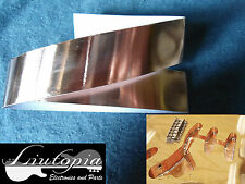 GUITAR & BASS  shielding - 3 cm x 100 cm self adhesive panel copper foil