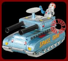 1950s ROBOT SPACE TANK Tin Friction Made in Japan VERY SCARCE