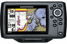 Hummingbird Fish Finder GPS Plotting Combo Sonar Transducer Helix Color Display