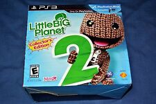 Little Big Planet 2 (Collector's Edition)  (Playstation 3, 2011) PS3 NEW Sealed