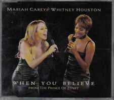 Mariah Carey&Whitney Houston- When You Believe cd  maxi single