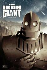 Iron Giant Movie Poster Boy Cartoon 35x24 Home Decor Poster