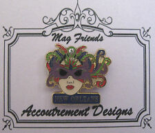 Accoutrement Designs Mardi Gras New Orleans Mask Needle Minder Magnet