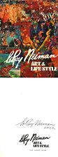 LeRoy Neiman SIGNED AUTOGRAPHED Art & Life Style HC 1st Ed/1st Playboy *RARE*