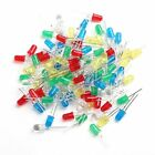 5mm LED Light White Yellow Red Green Blue Assorted Kit DIY LEDs Set 100Pcs