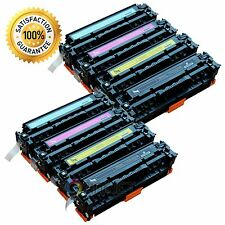 8pk CF210A CF211A CF212A CF213A Com. Toner For 131A Laserjet Pro M251nw M276nw
