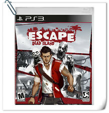 PS3 Escape Dead Island SONY PlayStation Action Adventure Games Deep Silver