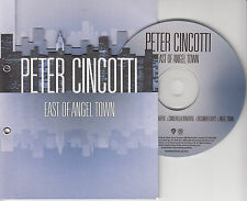 PETER CINCOTTI East Of Angel Town Sampler 2007 UK 5-track promo ony CD
