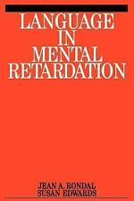 Language in Mental Retardation (Exc Business And Economy (Whurr))-ExLibrary
