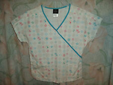 BABY PHAT SCRUB TOP SIZE M (3 POCKETS) STYLE 26815