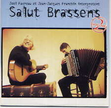 JOEL FAVREAU ET JEAN-JACQUES FRANCHIN (Brassens) - rare CD album - France -Promo
