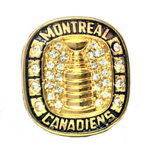 NHL STANLEY CUP 1945/46  REPLICA CHAMPIONSHIP RING MONTREAL CANADIENS ELMER LACH