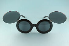 Lady Gaga Mickey Style Flip Sunglass - Black - Free Worldwide Shipping