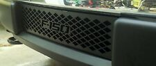 2009-2014 Ford F-150 Lariat Small Diamond Powder Coated Black Lower Grille