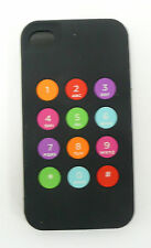 NWT Kate Spade Keypad iPhone 4 & 4S Silicone Case Cover 100% Authentic