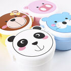 New Children Lunch Box 2 Layer Cute Animal Bento Box Microwave Food Container
