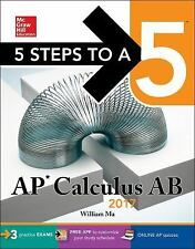5 Steps to a 5 AP Calculus AB 2017 by William Ma (2016, Paperback)
