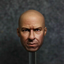 "1/6 Scale Vin Fast and Furious Diesel Head Sculpt F/12"" Male Action Figure Body"