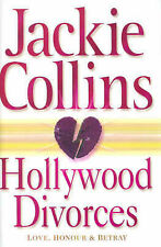 Jackie Collins Hollywood Divorces (Hardcover) Very Good Book