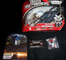 Transformers RARE MovieTAKARA BLACKOUT DVD MINI OPTIMUS PRIME PINS