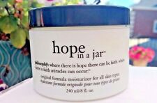 New! *PHILOSOPHY* HOPE IN A JAR Original Moisturizer Anti-Aging Lotion HUGE 8 oz