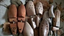 Konvolut 9 alte Schuh Spanner,massiv Holz Erweiterer,Verschiedene Schuster Form.