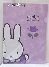 Miffy Nijntje Plastic A4 Folder, 1pc Made In Japan Limited    #5