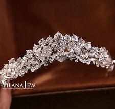 Shinning Crystal Wedding Bridal Tiara Headband Head Crown Hair Accessories