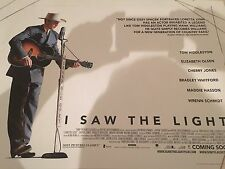 I Saw The Light Original Uk Quad Poster
