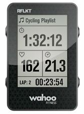 Wahoo Fitness Rflkt Customizable Screen Bike Computer For Iphone & Android New