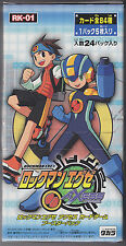 Rockman.EXE Axess Megaman Trading Card Game Booster Part 1 Sealed Box Japanese
