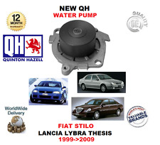 FOR FIAT STILO 2.4 20v LANCIA LYBRA THESIS 2.0 20V 1999-2009 NEW QH WATER PUMP