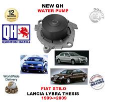 FOR FIAT STILO 2.4 20v LANCIA LYBRA THESIS 2.0 20V 1999-2009 NEW QH WATER PUMP