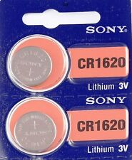 CR 1620 SONY LITHIUM BATTERIES (2 piece) 3V Watch New Authorized Seller EXP 2025
