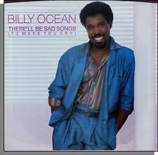 """Billy Ocean - There'll Be Sad Songs + If I Should Leave You - 1986 7"""" Single!"""