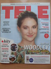 SHAILENE WOODLEY on front cover TELE MAGAZYN 11/2016 in.Tina Turner