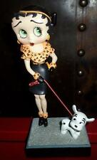 """Vtg Danbury Mint Betty Boop """"Out for a Stroll"""" Collector Figurine Syd Hap w/COA"""