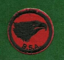 VINTAGE  BOY SCOUT PATROL RED & BLACK PATCH - EAGLE - NEW - FREE SHIPPING