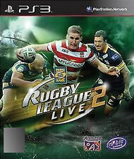 Rugby League Live 2 (Sony PlayStation 3, 2012) - Blues Edition