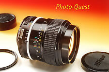 Excellent NIKON 105mm f/2.5 AI Nikkor Lens Nikon USA Conversion SEE SAMPLE SHOTS