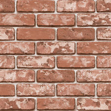 brick effect self adhesive wallpaper removable interior decorating contact paper