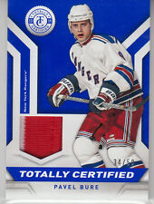 2013-14 Panini Totally Certified - BLUE PRIME JERSEY - Pavel Bure (/50)