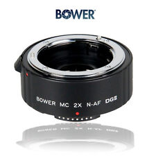 BOWER 2X Multi-Coated 4 TeleConverter For NIKON D3100, D3200,D5000, D5100, D5200