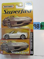 MATCHBOX 2005 SUPERFAST FERRARI 360 SPIDER   #38