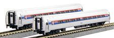 KATO 1068012 N SCALE 2 CAR SET A Amtrak Phase I Coach-Coach 106-8012 New!