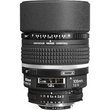 Nikon Telephoto AF DC Nikkor 105mm f/2.0D Lens New