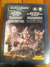 Black Templars CAPPELLANO grimaldus e Retinue Metallo Figure BOXED WARHAMMER 40K