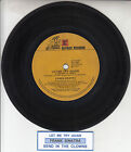 "FRANK SINATRA Let Me Try Again 7"" 45 rpm vinyl record + juke box title strip"