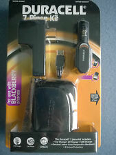 Duracell 7-Piece Mobile Phone Charger Kit DU9997 BRAND NEW SEALED
