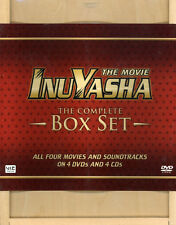 InuYasha Complete Movie Series Collector's DVD & Soundtrack Wooden Boxed Set NEW